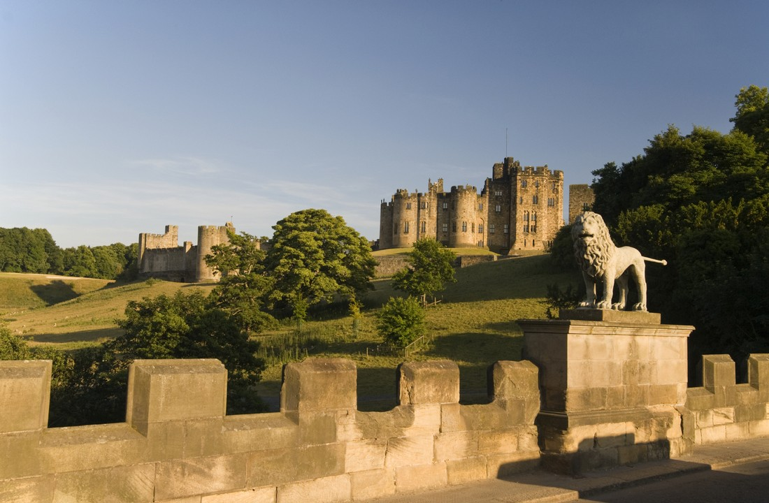 Alnwick Castle and The Border Country