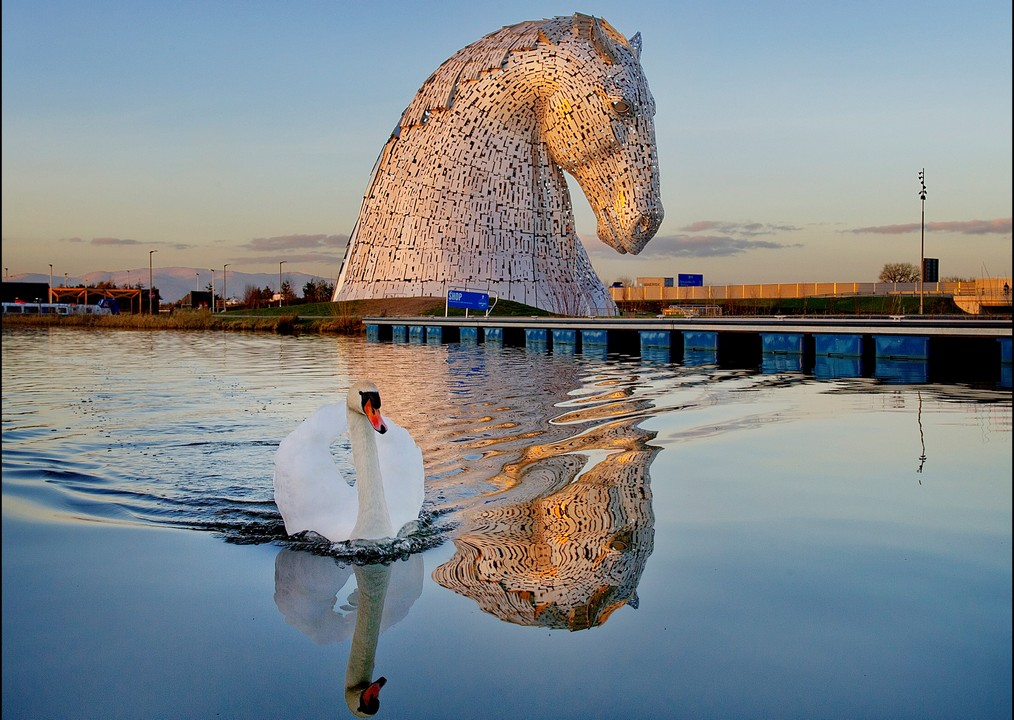 The Kelpies, Stirling Castle and Loch Lomond