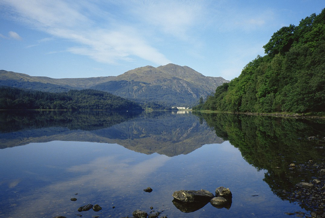 Loch Lomond, The Highlands and Stirling Castle with hotel pick-up