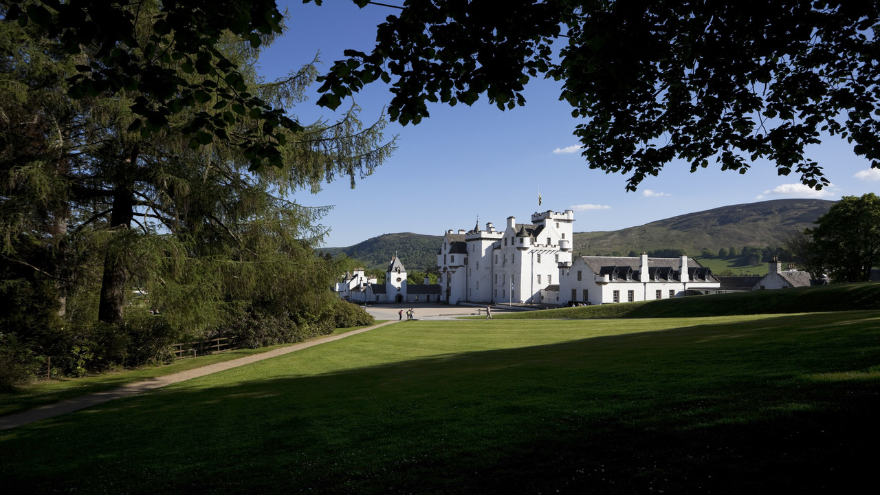 Blair Castle and Highland Perthshire