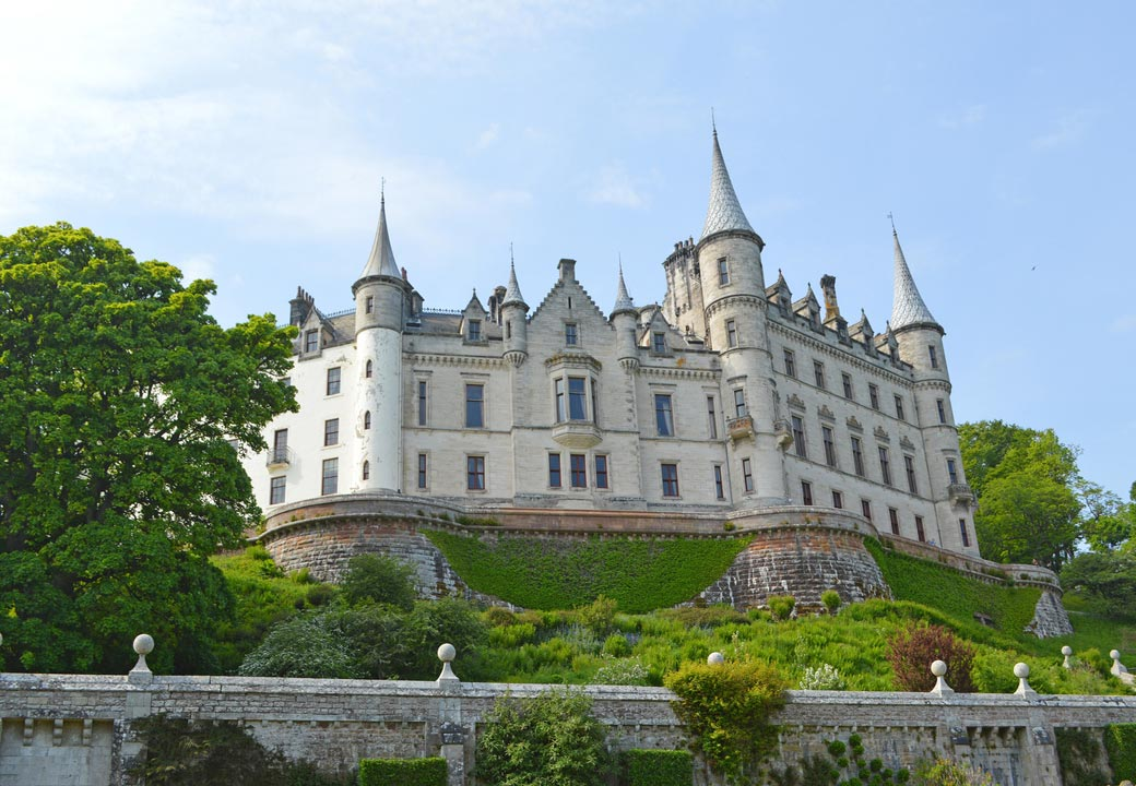 Dunrobin Castle, John O'Groats and the Northern Highlands