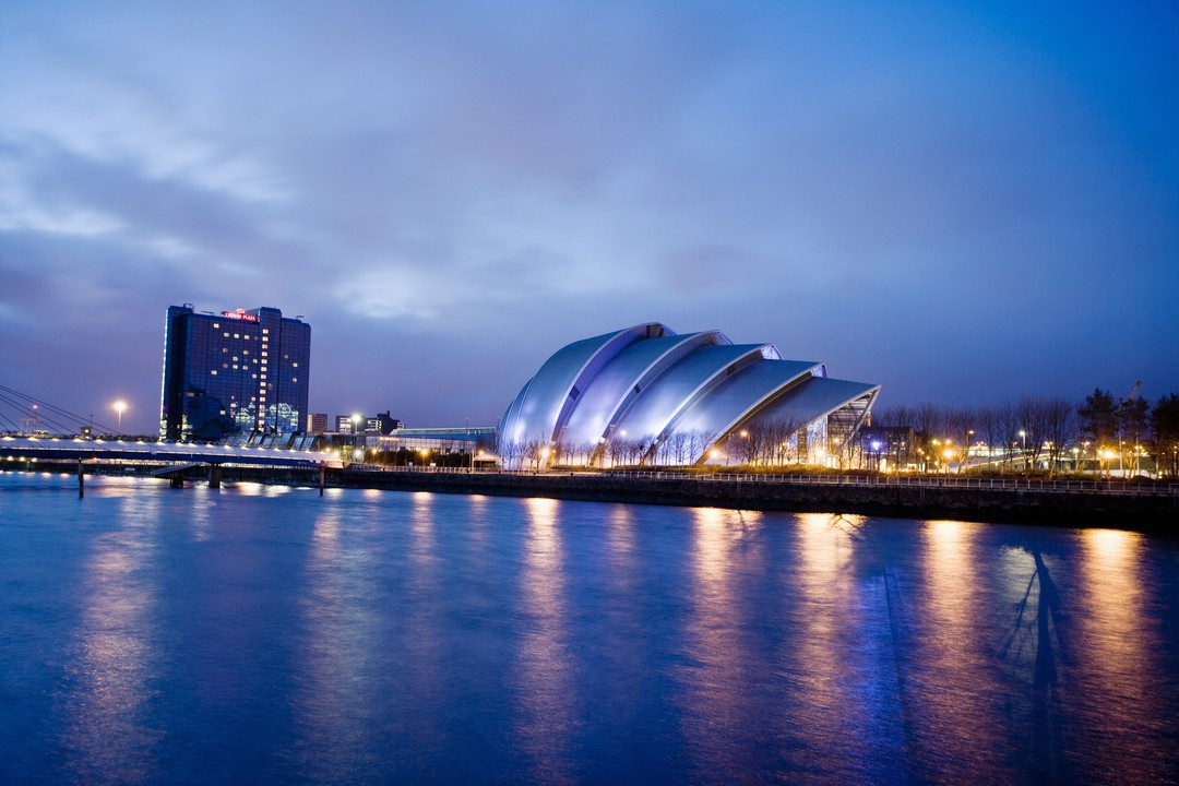 SECC and the River Clyde