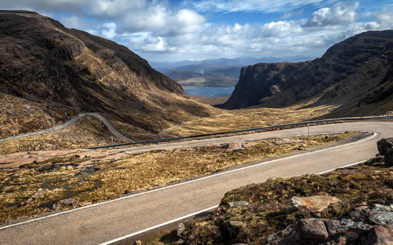The Bealach na Bass Pass