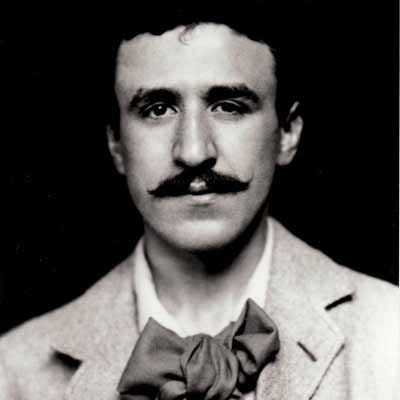 Black and White portrait of Charles Rennie Macintosh