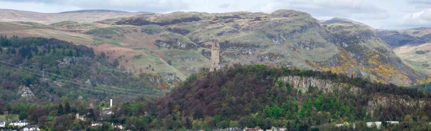 Ochil Hills and the National Wallace Monument