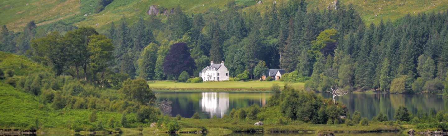 Glengyle Houes birthplace of Rob Roy MacGregor