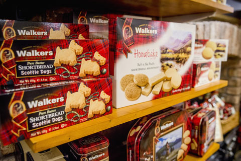 selection of Shortbread on a shop shelf