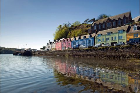 Portree Capital of Isle of Skye