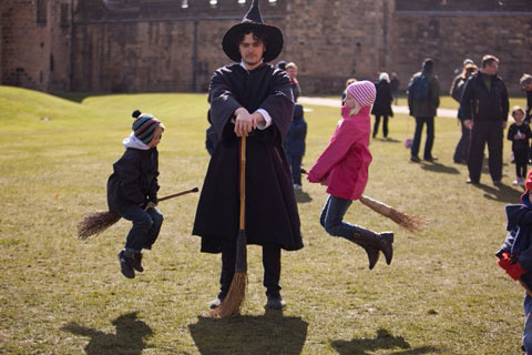 Wizards at Alnwick Castle