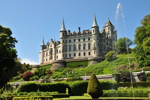 Highlands Dunrobin Castle