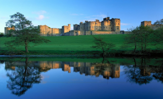 Alnwick Castle and the Scottish Borders