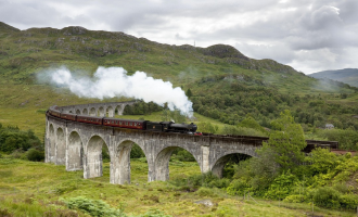 Isle of Skye and the Jacobite Steam Train