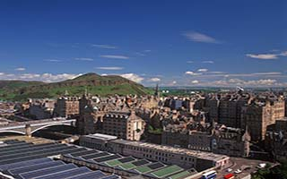 Edinburgh by Train
