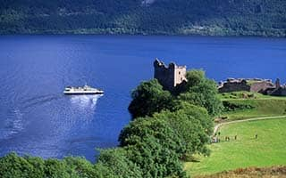 Edinburgh, Loch Ness and the Highlands